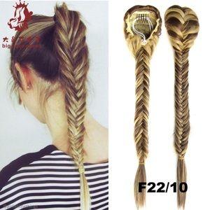 Accessories - Dark Brown Braided Ponytail Hair Extension